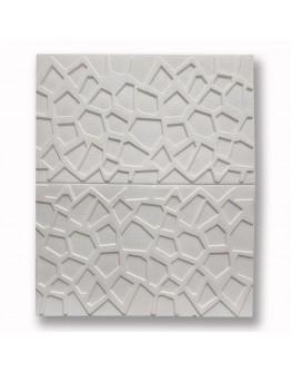 САМОЗАЛЕПВАЩО PVC ПАНО 70/70/8  White релеф