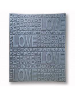 САМОЗАЛЕПВАЩО PVC ПАНО  58/70/6,5 Silver Love